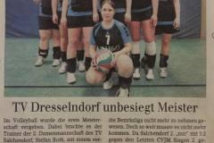 1. Damenmannschaft 2015